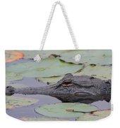 Okefenokee Gator Weekender Tote Bag