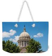 Oklahoma State Capital Dome Weekender Tote Bag