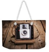Old Camera Weekender Tote Bag