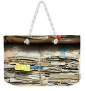 Old Cardboard Boxes Weekender Tote Bag
