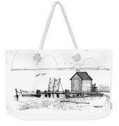 Old Fishermans Wharf Weekender Tote Bag