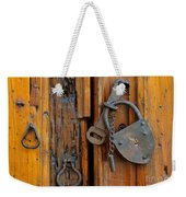Old Lock, Mexico Weekender Tote Bag