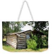 Old Log Homestead Weekender Tote Bag
