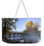Old North Bridge Concord Weekender Tote Bag by Brian Jannsen