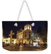 Old Portuguese Colonial Church In Macau Macao China Weekender Tote Bag