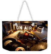 Old School Radio Weekender Tote Bag