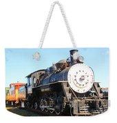 Old Steam Engine  Weekender Tote Bag