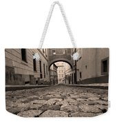 Old Street In Prague Weekender Tote Bag