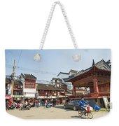 Old Town Of Shanghai China Weekender Tote Bag