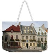 Place Royale - Old Town Quebec - Canada Weekender Tote Bag