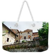 Old Towns Of Tuscany San Gimignano Italy Weekender Tote Bag
