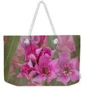 Oleander Cluster Weekender Tote Bag