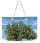 Olive Tree Weekender Tote Bag