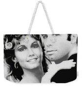 Olivia Newton John And John Travolta In Grease Collage Weekender Tote Bag