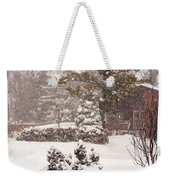 On A Winter Day Weekender Tote Bag