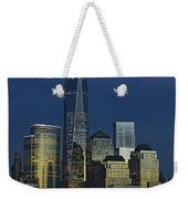 One World Trade Center At Twilight Weekender Tote Bag