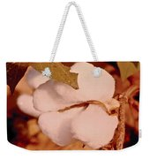 Open Cotton Boll Weekender Tote Bag
