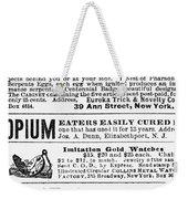 Opium Habit Cure, 1876 Weekender Tote Bag