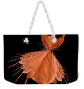 1 Orange Ballerina Weekender Tote Bag