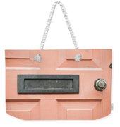 Orange Door Weekender Tote Bag