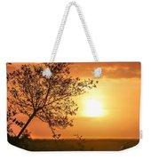 Orange Morning Weekender Tote Bag