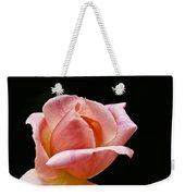 Orange Rose Bud Weekender Tote Bag