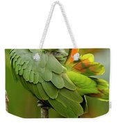 Orange-winged Parrot Amazona Amazonica Weekender Tote Bag