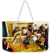 Orchestra Tuning Up In The Pit In Hermitage Theatre In Saint Petersburg-russia  Weekender Tote Bag