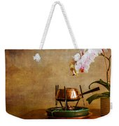 Orchid And Copper Fondue Weekender Tote Bag