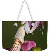 Orchid Mantis Weekender Tote Bag