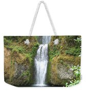 Oregon Waterfall Weekender Tote Bag