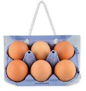 Organic Eggs Weekender Tote Bag