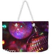 Ornaments-2160-merrychristmas Weekender Tote Bag