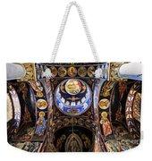 Orthodox Church Interior Weekender Tote Bag by Elena Elisseeva