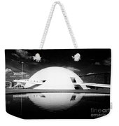 Oscar Niemeyer Architecture- Brazil Weekender Tote Bag