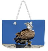 Osprey With Fish In Talons Weekender Tote Bag