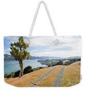 Otago Peninsula Coastal Landscape Dunedin Nz Weekender Tote Bag