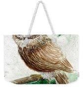 Owl Study Weekender Tote Bag
