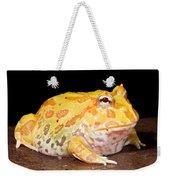 Pac Man Frog Ceratophrys Weekender Tote Bag