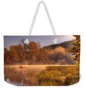 Paddling In Mist Weekender Tote Bag