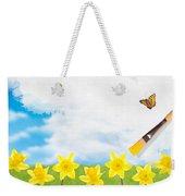 Painting Daffodils Weekender Tote Bag