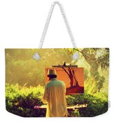 Within The Painting Weekender Tote Bag