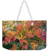 Pallette Of Fall Colors Weekender Tote Bag