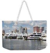 Palm Beach Docks Weekender Tote Bag