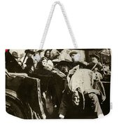 Pancho Villa Ambushed July 20 1923 1923 Dodge Touring Car 1923-2013 Weekender Tote Bag