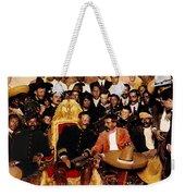 Pancho Villa In Presidential Chair And Emiliano Zapata Palacio Nacional Mexico City December 6 1914 Weekender Tote Bag