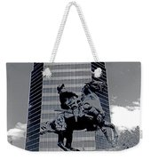 Pancho Villa Statue Downtown Tucson Arizona 1988-2008  Weekender Tote Bag