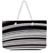 Paper Pages Weekender Tote Bag