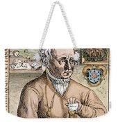 Paracelsus (1493-1541) Weekender Tote Bag