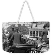 Paris Champs Elysees Weekender Tote Bag